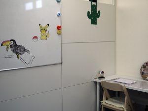 ホワイトボードに描いた絵の写真