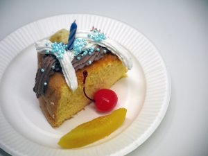 合格祝&お誕生日会の写真