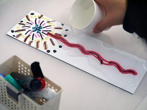 おもしろ科学実験の写真