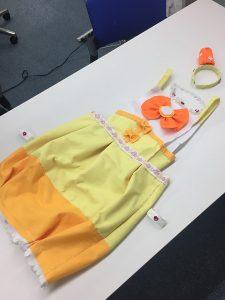 プリキュアの制作衣装の写真