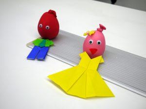 風船人形の写真